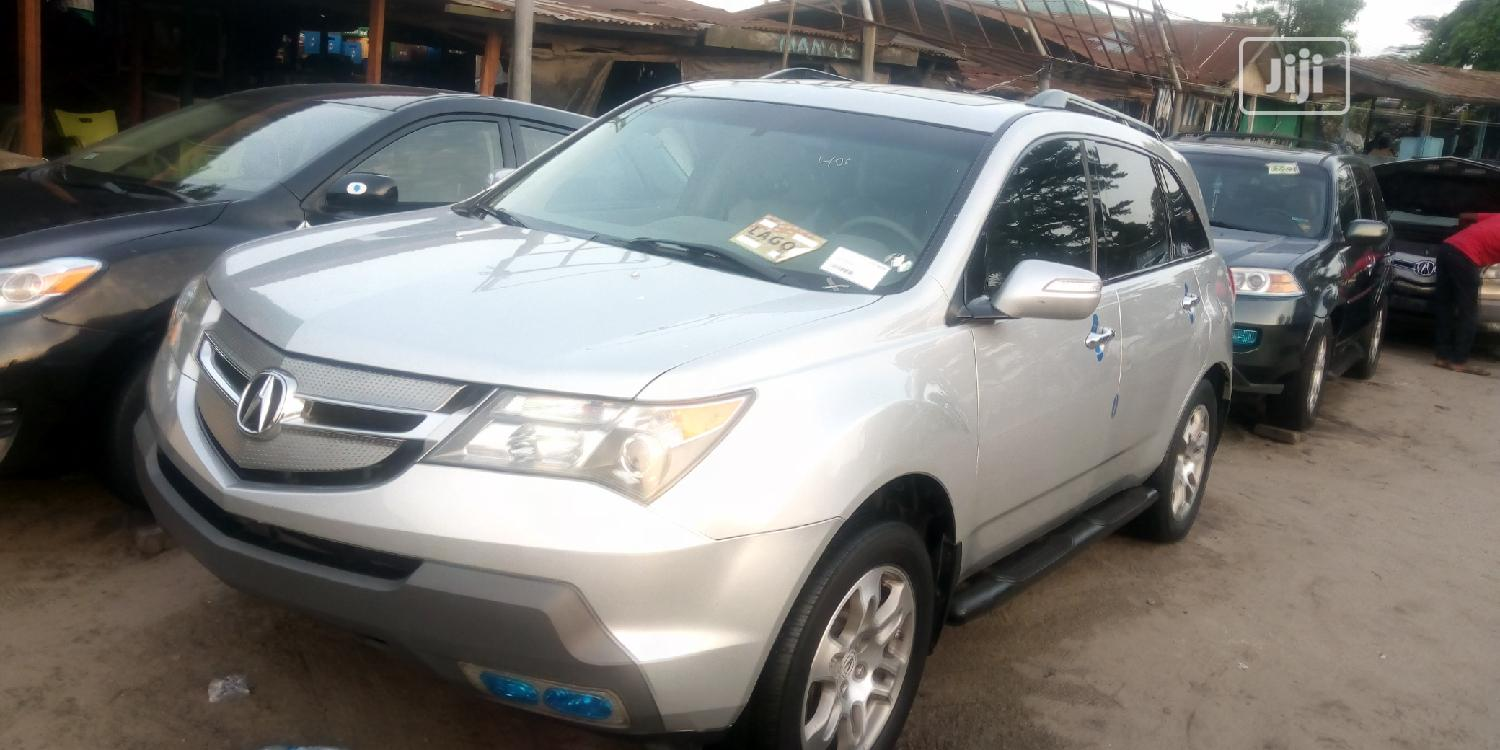 Acura MDX 2009 SUV 4dr AWD (3.7 6cyl 5A) Silver | Cars for sale in Apapa, Lagos State, Nigeria