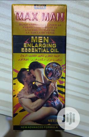 Maxman Ejaculation Delay & Penis Enlarging Essential Oil | Sexual Wellness for sale in Lagos State, Abule Egba