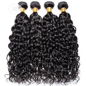 100% Black Natural Wave and Curly Human Hair | Hair Beauty for sale in Lagos State, Ifako-Ijaiye