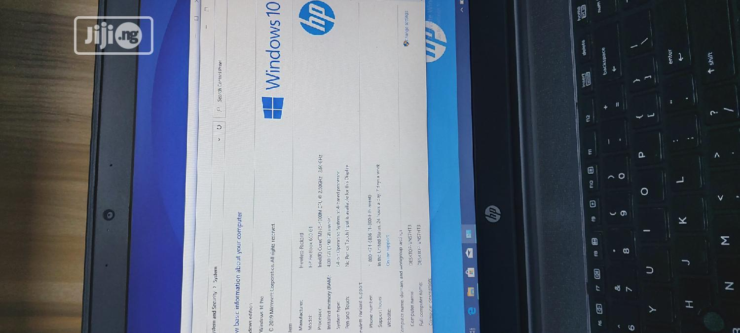 Laptop HP ProBook 650 G1 4GB Intel Core i5 HDD 500GB   Laptops & Computers for sale in Wuse, Abuja (FCT) State, Nigeria