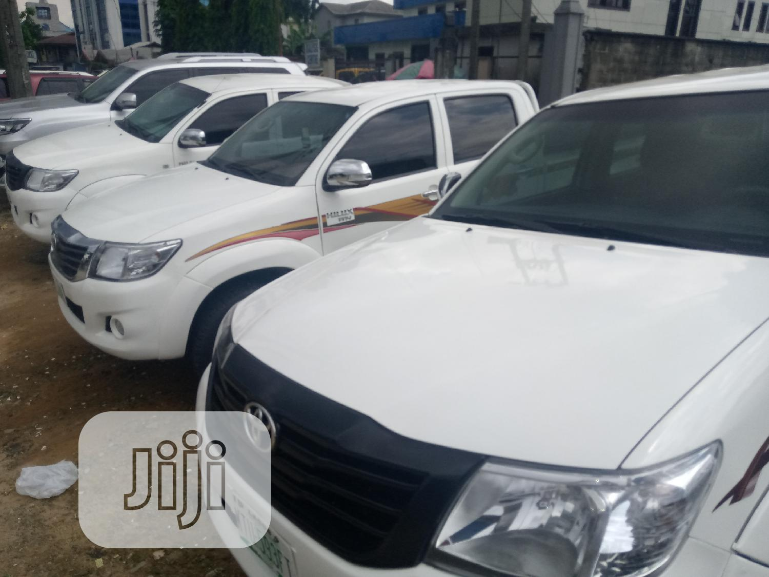 Toyota Hilux 2013 White | Cars for sale in Port-Harcourt, Rivers State, Nigeria