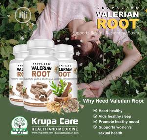 Krupa Care Valerian Root,Sleep,Heart, Mood   Vitamins & Supplements for sale in Lagos State, Ikeja