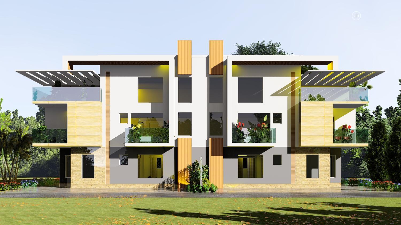 350sqm Land For 5 Bedroom Simi Detached Duplex At Life Camp