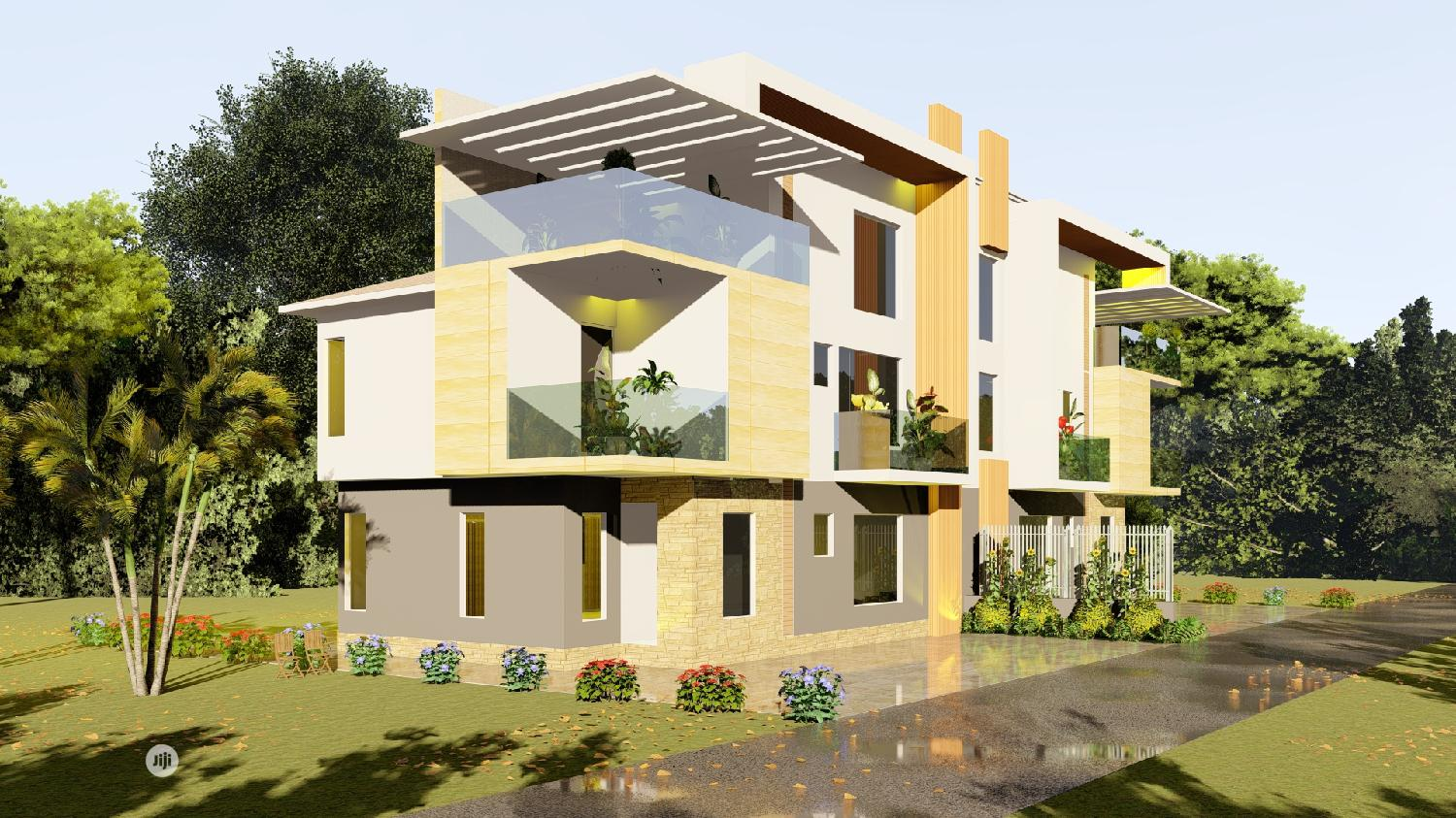 350sqm Land For 5 Bedroom Simi Detached Duplex At Life Camp | Land & Plots For Sale for sale in Gwarinpa, Abuja (FCT) State, Nigeria