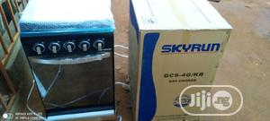 Skyrun Standing Gas Cooker 4burnar All Gas | Kitchen Appliances for sale in Lagos State, Ikeja