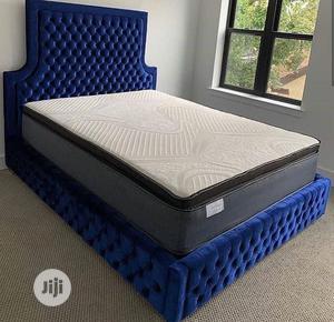 6/6 Full Upholstery Bedframe   Furniture for sale in Lagos State, Lekki