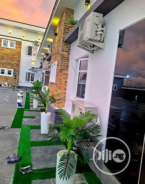 White Flower Pot With Palm Tree | Home Accessories for sale in Lagos State, Ikeja