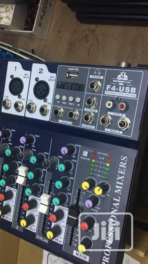 4 Channel Mixer   Audio & Music Equipment for sale in Lagos State, Lekki