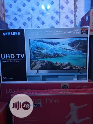 Samsung 55inches Smart Tv 4k With 2 Yrs Warranty   TV & DVD Equipment for sale in Lagos State, Ojo