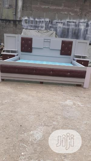 6×6 Bed Frame With Double Side Drawer | Furniture for sale in Lagos State, Ojo