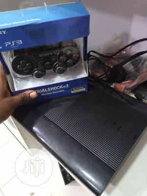 Black Hacked PS3 Slim / Superslim With 14 Games,1 Controller | Video Game Consoles for sale in Ondo State, Ondo / Ondo State