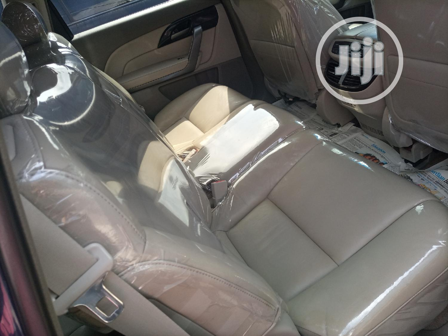 Acura MDX 2009 SUV 4dr AWD (3.7 6cyl 5A) Blue   Cars for sale in Apapa, Lagos State, Nigeria