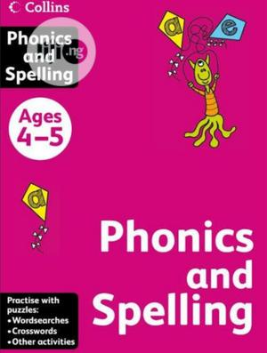Collins Phonics And Spelling Age 4-5   Books & Games for sale in Lagos State, Surulere