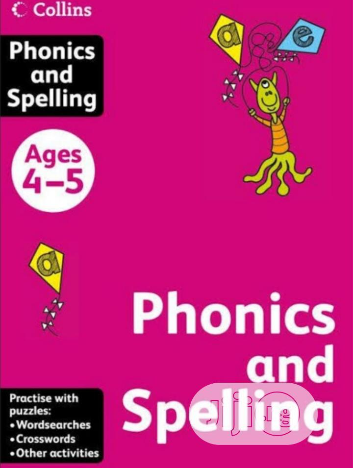 Collins Phonics And Spelling Age 4-5