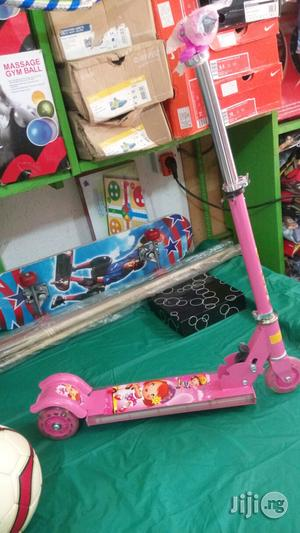 Children Riding Scooters With Design Light And Music Player | Toys for sale in Lagos State, Ikeja