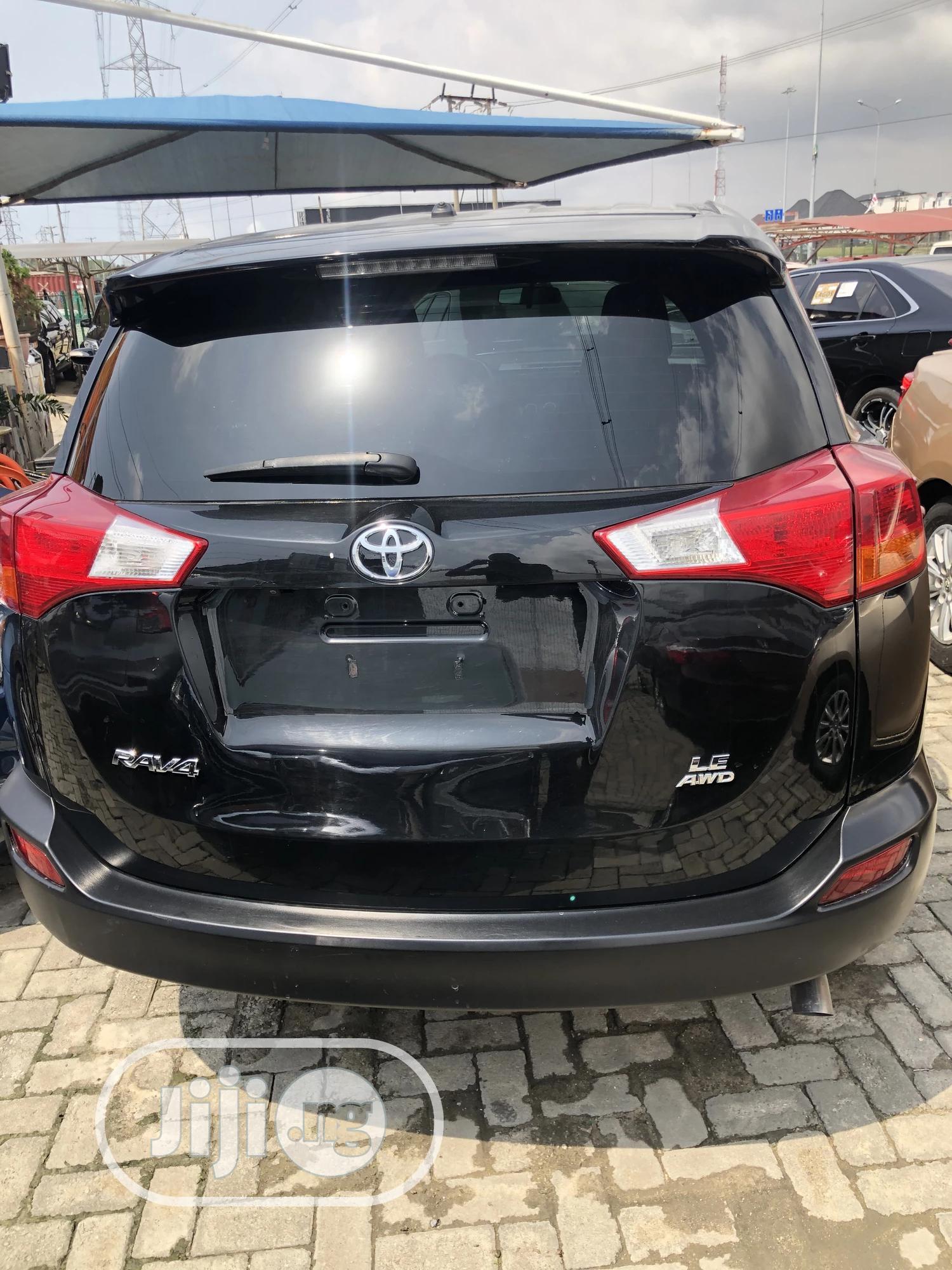Toyota RAV4 2015 Black   Cars for sale in Lekki, Lagos State, Nigeria