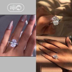 Beautiful Sterling Silver With Stone Engagement Ring   Wedding Wear & Accessories for sale in Lagos State, Ikeja