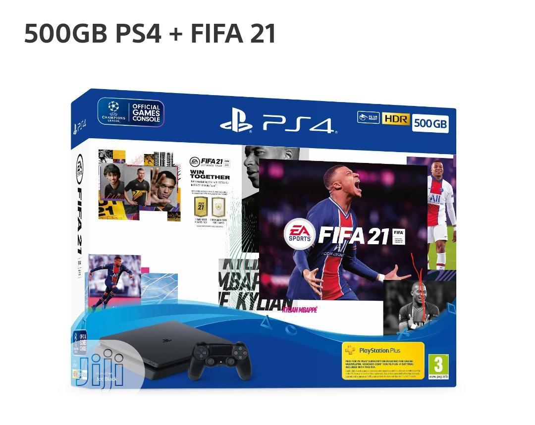 Playstation 4 500GB SLIM + FIFA 21 Bundle