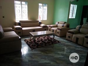 7 Seater Quality Leather Sofa   Furniture for sale in Rivers State, Port-Harcourt
