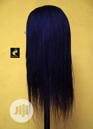 Exquisite Black Tiny Braided Wig | Hair Beauty for sale in Abuja (FCT) State, Karu