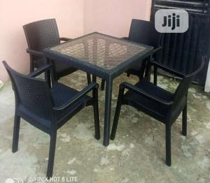 Super Quality Set of Outdoors Dinning Table With 4 Chairs | Furniture for sale in Abuja (FCT) State, Jabi