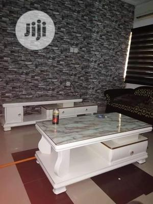 Imported Marble Tv Stand With Center Table   Furniture for sale in Lagos State, Ojo