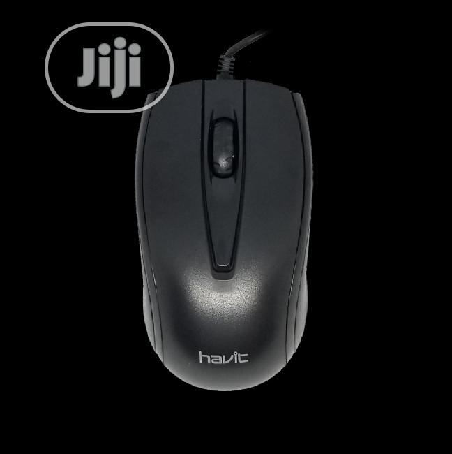 Havit Optical MS871 Wired Mouse   Computer Accessories  for sale in Wuse 2, Abuja (FCT) State, Nigeria