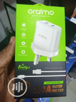 Oraimo Fast Charger Dual USB Port | Accessories for Mobile Phones & Tablets for sale in Lagos State, Ikeja