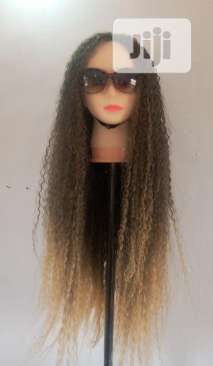 Long Cute Curly Wig   Hair Beauty for sale in Lagos State, Alimosho