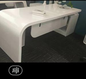 White Executive Table 3.2meters | Furniture for sale in Lagos State, Victoria Island