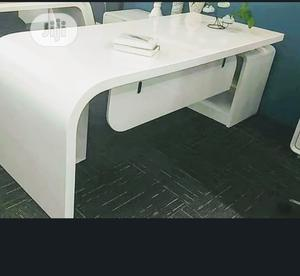 White Executive Table Size 1.8meters | Furniture for sale in Lagos State, Ikoyi