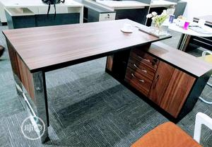 Wooden and Metal Leg Managers Table 1.6 | Furniture for sale in Lagos State, Shomolu
