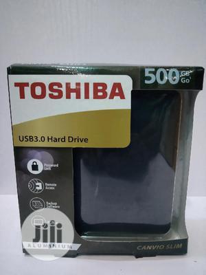 Toshiba 500GB External Hard Drive | Computer Hardware for sale in Lagos State, Ikeja