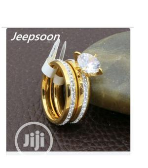 Crystal Wedding Ring Set | Wedding Wear & Accessories for sale in Lagos State, Ikeja