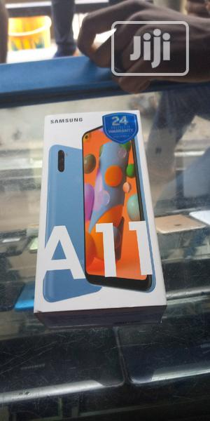 New Samsung Galaxy A11 32 GB Blue | Mobile Phones for sale in Lagos State, Ikeja