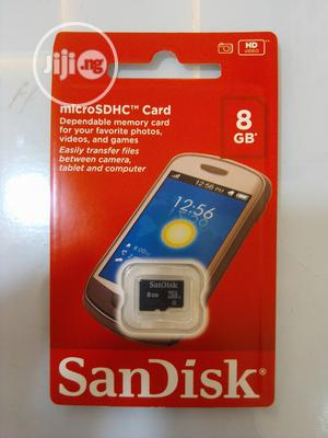 Sandisk 8GB Memory Card   Accessories for Mobile Phones & Tablets for sale in Lagos State, Ikeja