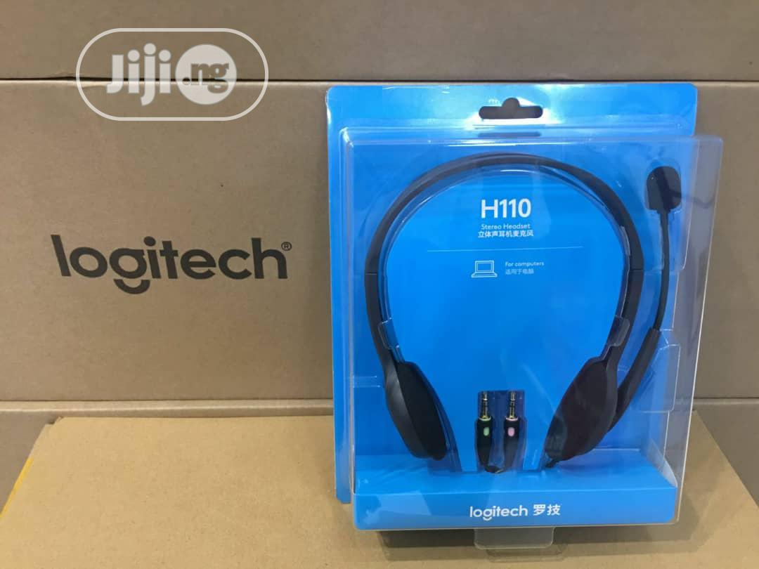 Archive: Logitech Usb Computer Headset H110