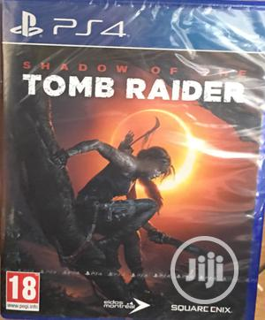 PS4 Game Shadow Of The Tomb Raider   Video Games for sale in Lagos State, Ikeja