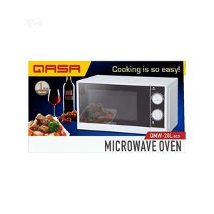 Qasa Microwave Oven + Grilling Function -20l- QMW-20L -19-07 | Kitchen Appliances for sale in Lagos State, Alimosho