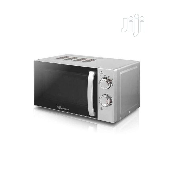 Qasa Microwave Oven + Grilling Function -20l- QMW-20L -19-07 | Kitchen Appliances for sale in Alimosho, Lagos State, Nigeria