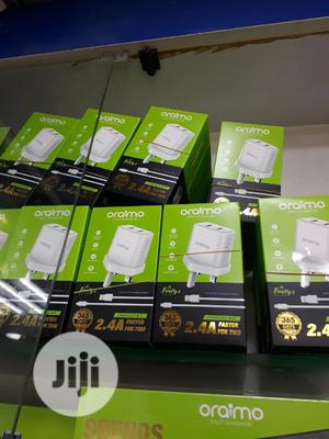 Oraimo Smart Fast Charger + Charging Cable   Accessories for Mobile Phones & Tablets for sale in Lagos State, Ikeja
