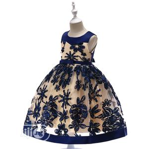 Girls Blue Gown | Children's Clothing for sale in Lagos State, Surulere
