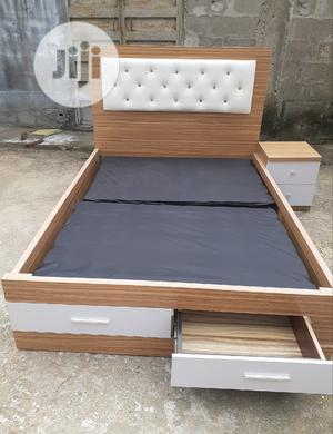 4.1/2 By6 Bed Frame With Drawer   Furniture for sale in Lagos State, Ojo