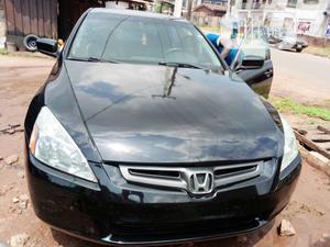 Honda Accord 2007 Sedan SE V-6 Automatic Black | Cars for sale in Edo State, Benin City