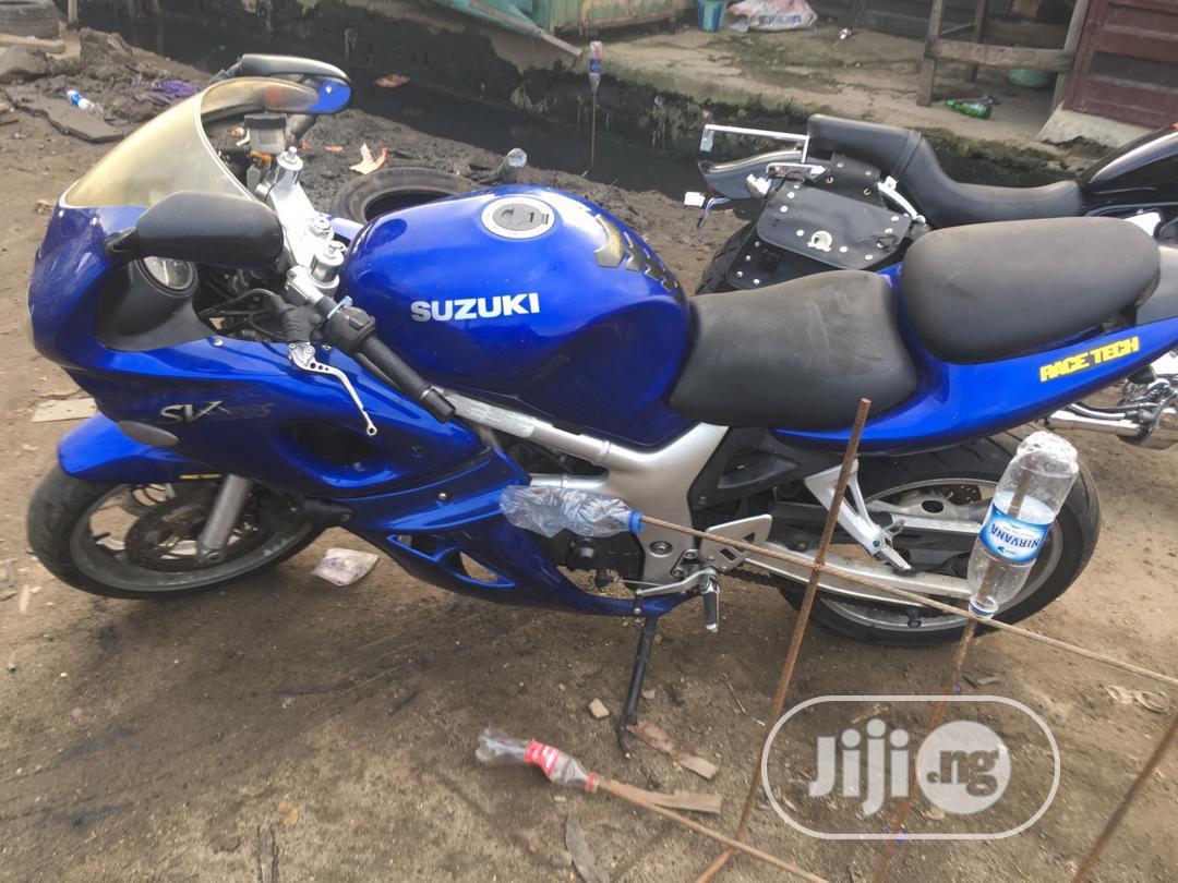 Archive: Suzuki SFV650 2003 Blue