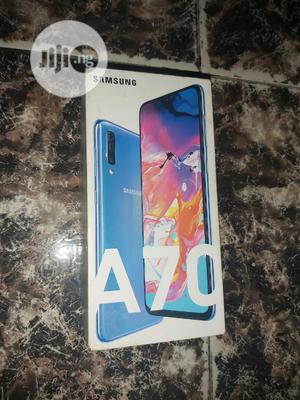 Samsung Galaxy A70 128 GB Blue | Mobile Phones for sale in Lagos State, Ojo