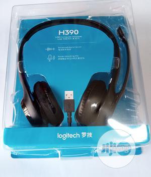 Logitech H390 Computer Headphones. Laptop Headphones | Headphones for sale in Lagos State, Ikeja
