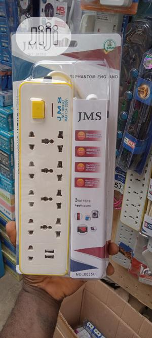 Jms 9 Ways Extension With 2 USB   Accessories & Supplies for Electronics for sale in Abuja (FCT) State, Abaji