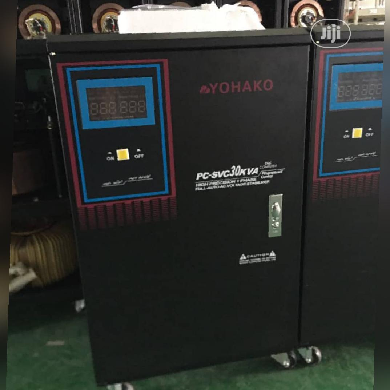 Archive: 30kva 3 Phase Yohako Voltage Stabilizer