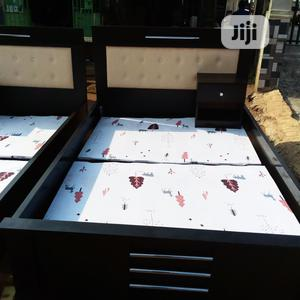 4 1/2 X 6 Bed Frame With Side Drawer   Furniture for sale in Lagos State, Alimosho